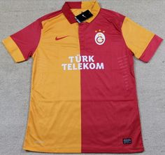 Thai quality 2013-2014Galatasaray SK home soccer jersey