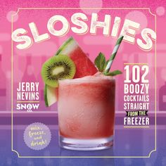 Recipe excerpted from Sloshies: 102 Boozy Cocktails Straight from the Freezer. Written by Jerry Nevins, cofounder of Kansas City's Snow & Co.—named the #1 frozen cocktail bar in the United States—Sloshies features more than 100 innovative refreshers guaranteed to jazz up (and cool down) backyard parties, barbecues, or any gathering with family and friends. And they are so easy to make: Based on a simple granita technique, sloshies require little to no special equipment. Just mix the ingre...