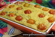 Temos para o #jantar uma delicia, fácil e econômica. É esta Torta de Sardinha Sem Glúten e Sem Lactose!  #Receita aqui: http://www.gulosoesaudavel.com.br/2015/08/19/torta-sardinha-sem-gluten/