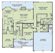 Plan First Floor House Plans MD Pinterest Luxury House Plans