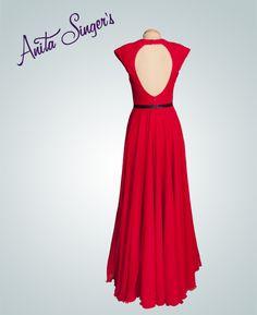 Vestido Marta Araujo By Anita Singers. Detalle espalda. https://www.facebook.com/media/set/?set=a.565657120127983.147181.565541916806170&type=3