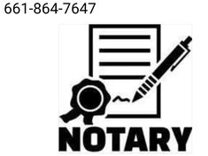 Notary Service, Mobile Notary, Kern County, How To Apply