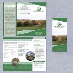freelance Help Endwell Greens Golf Club and Banquet Center with a new brochure design by Dnstryker