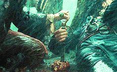gifs MY EDIT jack sparrow pirates of the caribbean johnny depp Keira Knightley orlando bloom will turner elizabeth swann davy jones sparrabeth
