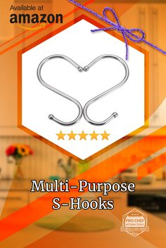 Keep Your Kitchen Organized With These Multi-Purpose Hooks. Act Now 50% Off Using Coupon Code PCTKSS25 On Amazon