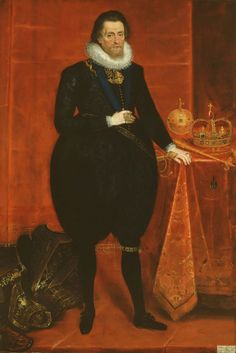 ab. 1618 Paul van Somer - James VI & I