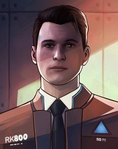 Detroit become human Connor By: missxdelaneyart