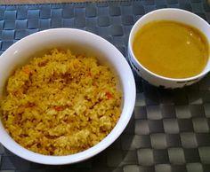 Rezept Möhren-Paprika-Reis mit Gemüsesauce von makabodo - Rezept der Kategorie Hauptgerichte mit Gemüse