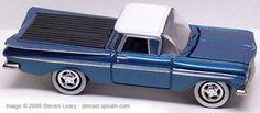 Johnny Lightning 1959 El Camino 1998. Truckin' America Collector #35