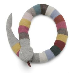 Oeuf Plush Toy, Snake by Oeuf. $76.00. From the Manufacturer                This soft snake is snuggley rather than slithery, and makes a wonderful gift. Our knits are made in Bolivia by a self-managed community of indigenous women. In line with Fair Trade principles, our artisans are paid a living wage, which enables them to afford healthcare and education for their children. This product is made from soft, luxurious alpaca wool which is hypoallergenic.      ...