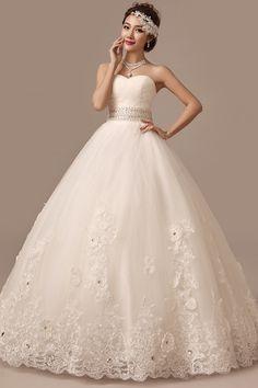 2014 summer newest fashion wedding dress Bra straps Qi Slim lace bridal wedding dress - Taobao