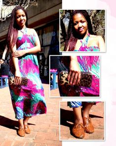 Leopard print and brogues. Street style: Jozi - Legitimate fashion #streetstyle #johannesburg