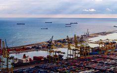 #Industriehafen in #Barcelona © Johannes Pilz
