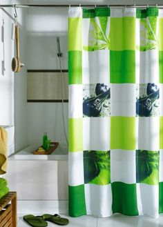 decorating shower curtains