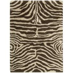 Nourison Splendor Hand-tufted Ivory Brown Rug (7'6 x 9'6) | Overstock.com Shopping - Great Deals on Nourison 7x9 - 10x14 Rugs