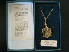 must sell vatican library collection necklace Dog Tag Necklace, Arrow Necklace, Pendant Necklace, Vatican Library, Fashion Jewelry, Ebay, Collection, Trendy Fashion Jewelry, Costume Jewelry
