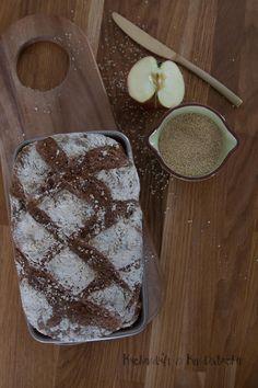Hirse Apfel Brot