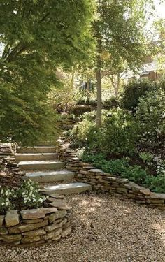 Garden Steps On A Slope Ideas_36