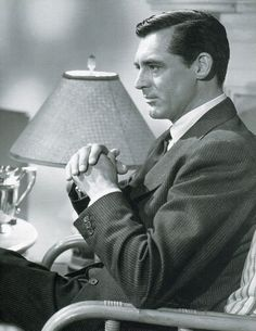 """Cary Grant in """"Notorious"""", (1946)."""