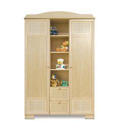 Armoire 2 portes blanche DOLLY - Chambre bébé