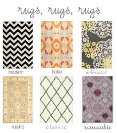 Affordable rugs to match your style
