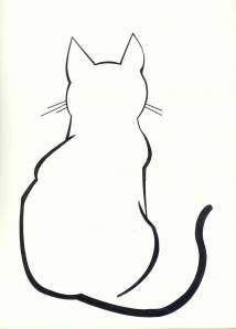 1000+ ideas about Simple Cat Tattoo on Pinterest   Cat Tattoo ...
