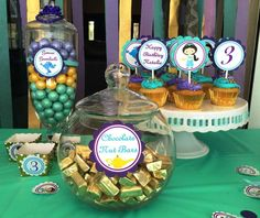 Princess Jasmine birthday party treats! See more party ideas at CatchMyParty.com!
