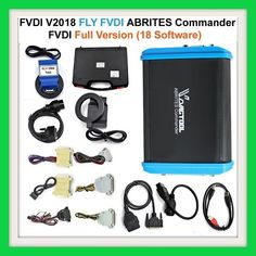 Newest FVDI V2018 Original FLY FVDI ABRITES Commander Full Version (18 Software) No Time Limited R8499 Genuine FVDI 2018 is the latest version FVDI Abrites Commander FVDI Full Diagnostic Tool. FVDI Full Commander with 18 software activated. Update by FLY company, support future FLY update. No lock, no time limitation. FVDI 2018 covers all functions of FVDI2014, FVDI2015, and covers most functions of VVDI2. Fly Company, Key Programmer, Software, Car, Future, Automobile, Future Tense, Cars, Autos