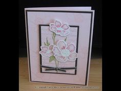 dimension vellum Flowers frenchiestamps.com