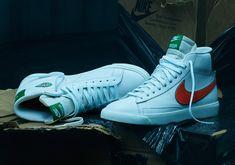 Nike Stranger Things Shoes - Release Dates | SneakerNews.com Pull & Bear, Blazers Nike, Nike Fashion, Fashion Shoes, Mens Fashion, Shoe Release Dates, Air Force One, Cortez, Shoe Releases