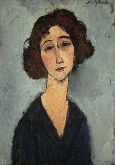 Modigliani Amedeo Jeune Femme (Totote de la Gaite) Oil Painting