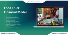 eFinancialModels offers a wide range of industry specific excel financial models, projections and forecasting model templates from expert financial modeling freelancers. Financial Planning, Business Planning, Financial Modeling, Food Truck Business, A Food, Flexibility, Budgeting, Investing, Trucks