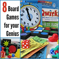 Need Family Fun Ideas? Check out these 8 board games that are educational and fun!