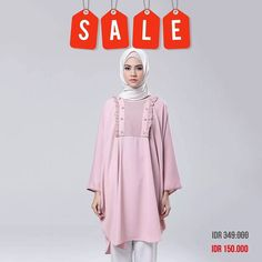 Dahir Tunik price drop alert. Mega Year End Sale price now only IDR 150K. Also check another item price drop on www.eclemix.com or reach our admin contact at :  line@ : @eclemix  WA : 081326004010 . Happy hunting happy shopping ladies  . #promo  #sale #top #fashion #hijab #beauty  #top #localbrandindonesia  #discount #bandung #2017 #2018