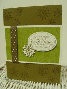 Season's Greetings for Seniors Christmas Punch by ButterflyGirl000 - Cards and Paper Crafts at Splitcoaststampers