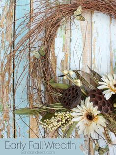 Early Fall Wreath Tutorial
