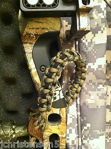 Custom 550 Parachute Cord Wrist Sling for Compound Bows - Made in USA | eBay Archery Gear, Archery Hunting, Archery Bows, Paracord Projects, Macrame Projects, Paracord Ideas, Compact Bow, String Crafts, Fun Crafts
