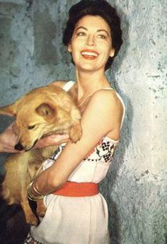 Ava on set The Night of the Iguana 1963