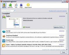 Come gestire i componenti aggiuntivi nei browser