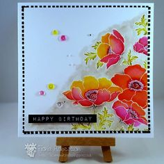 penny black poppy gems | 1000+ images about scrapbooking and cards on Pinterest | Quilling ...