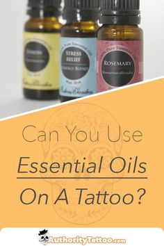 Sometimes as tattoos age they can loose their vibrancy, and certain oils can be applied to help make them look great again. We'll show you our favorites in this article. Best Oils, Best Essential Oils, Tattoo Oil, Fresh Tattoo, Tattoo Care, Tattoo Aftercare, Healing Oils, How To Apply, How To Make