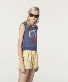 Lily Brown(リリーブラウン)のパジャマ風ショートパンツ(パンツ)|イエロー