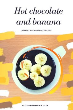 Are you looking for a healthy hot chocolate recipe? You can have fun creating this home made recipe by adding banana. It is very easy and healthy. You can use old and ripe bananas and create a low car Quick Recipes, Healthy Dinner Recipes, Low Carb Recipes, Sweet Recipes, Healthy Snacks, Meal Recipes, Healthy Hot Chocolate, Hot Chocolate Recipes, Banana Recipes