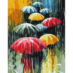 Frameless Umbrella Rain Diy Painting Oil Painting On Canvas . Frameless Umbrella Rain DIY Painting On Canvas oil painting on canvas - Oil Painting Umbrella Painting, Rain Painting, Oil Painting On Canvas, Rain Umbrella, Canvas Frame, Canvas Art, Colorful Umbrellas, Scenery Pictures, Wall Pictures