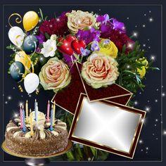 Original created by sonneedyta. Birthday Photo Frame, Happy Birthday Frame, Birthday Frames, Happy Birthday Pictures, Happy Birthday Cards, Happy Birthday Qoutes, Happy Birthday Greetings Friends, Birthday Wishes For Myself, Birthday Cake Writing