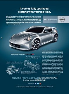 The ultimate performance Z - Nissan NISMO 370Z #performance #nissan #z #nissan #nismo #370z #teamnissan #newhampshire #nh