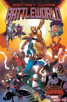 Marvel's Newest SECRET WARS Title BATTLEWORLD To Feature 'Weird' Fights | Newsarama.com