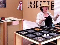 Laurette O'Neil   Silver Jewelry Design   booth