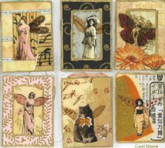 Artist Trading Cards Gallery | Creative Journey: Artist Trading Cards????