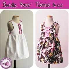 SALE Bundle Pack  Tianna Dress  0 month to 8 by TheLilyBirdStudio, $9.90